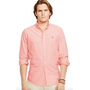 NWT Ralph Lauren Classic Fit Oxford Shirt 3XL Big